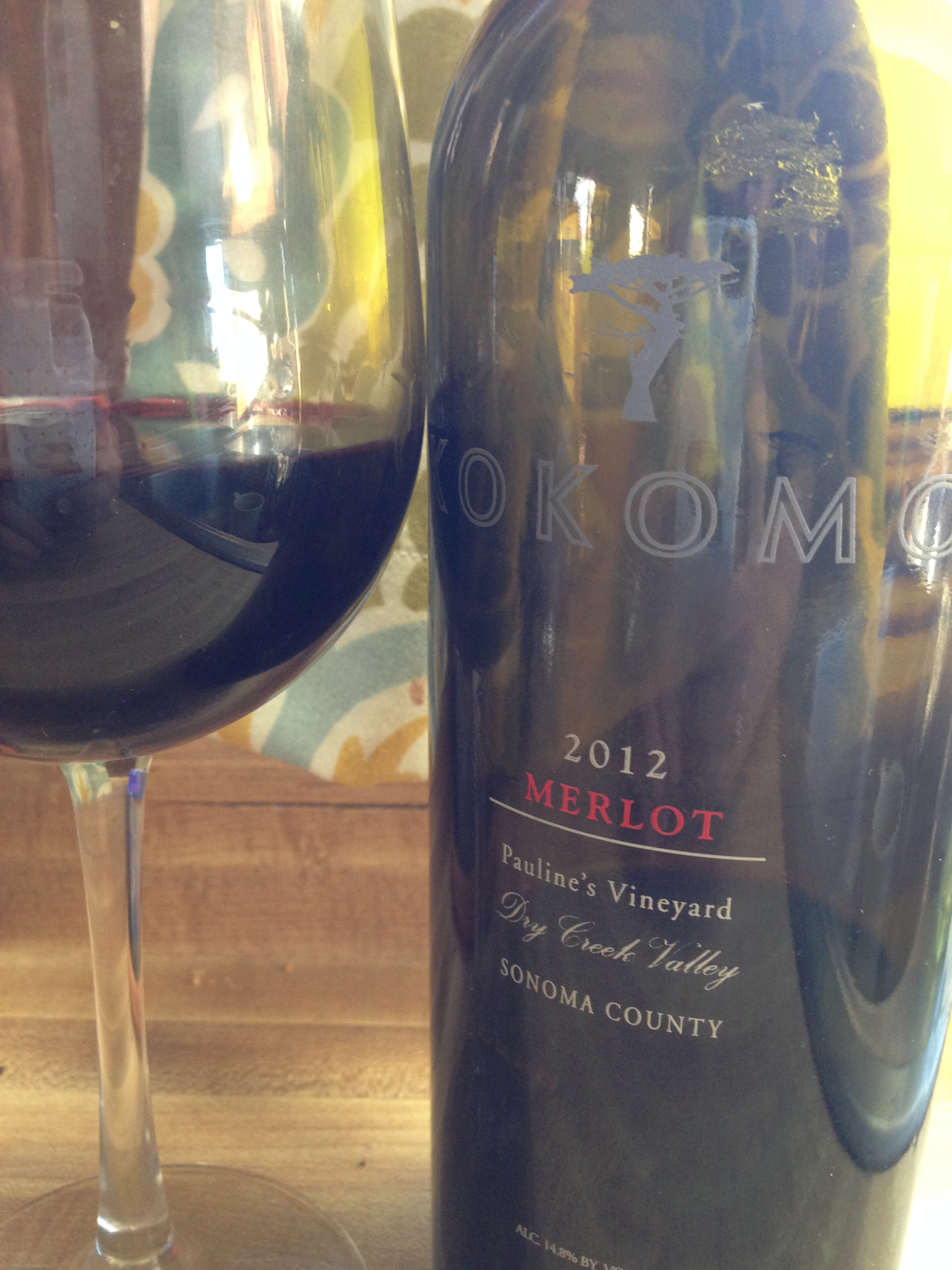 Wine Wednesday: Kokomo Wines 2012 Merlot