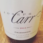 Wine Wednesday: Joseph Carr 2013 Chardonnay