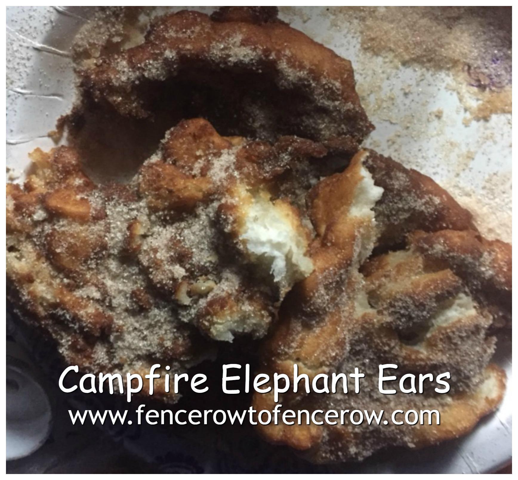 Campfire Elephant Ears Fencerow To Fencerow