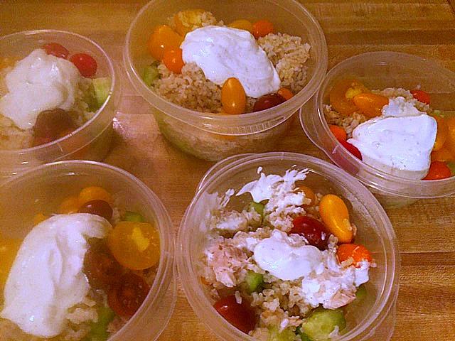Instant Pot Chicken Tzatziki Bowls